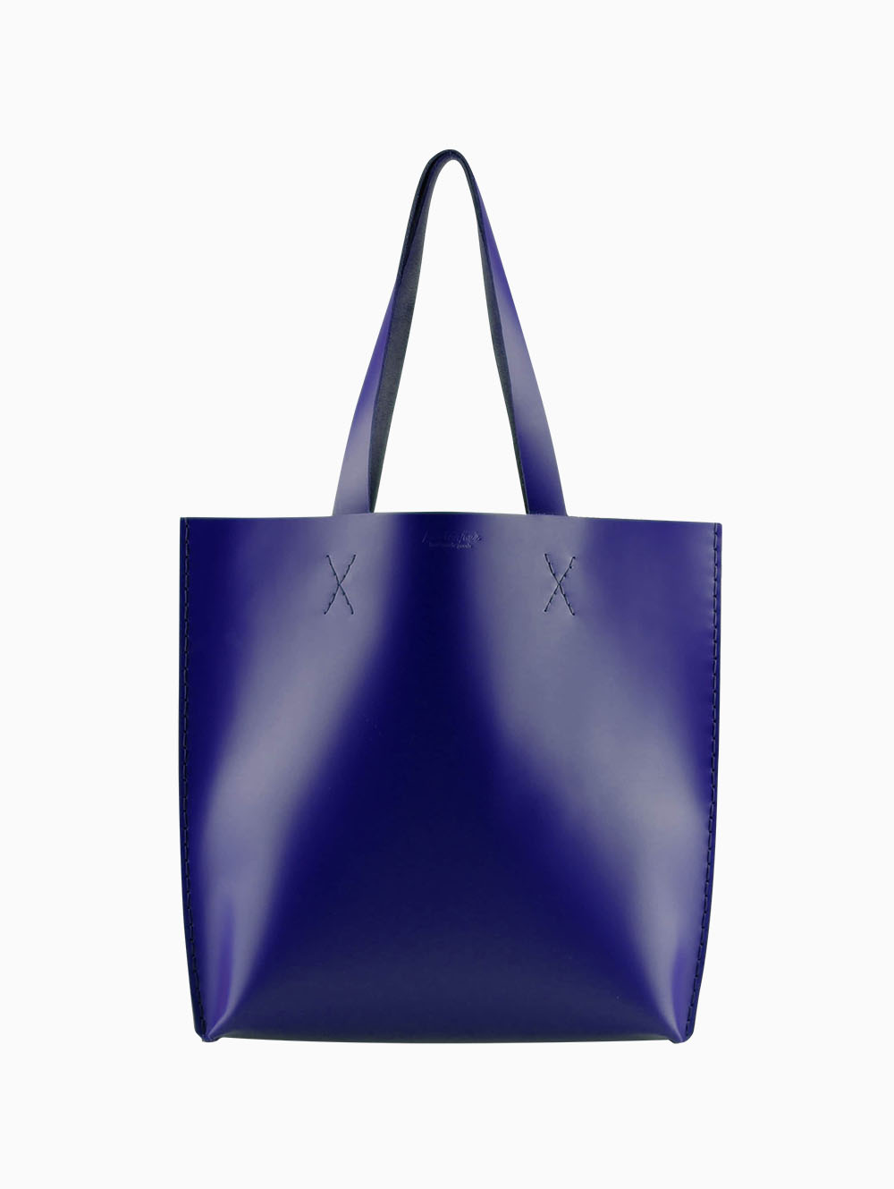 Tox Leather Indigo Tote Çanta