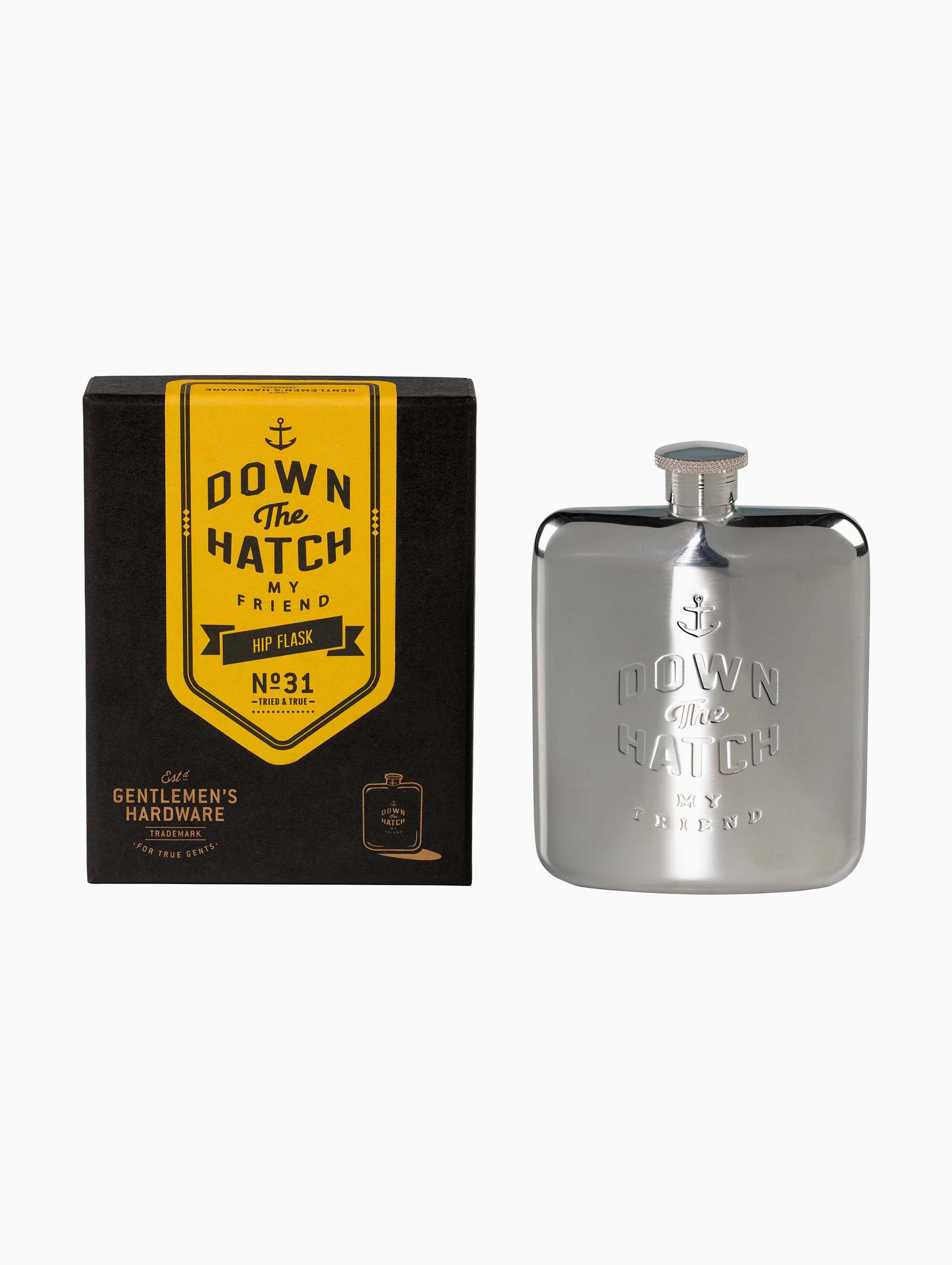 Gentlemen's Hardware Hip Flask
