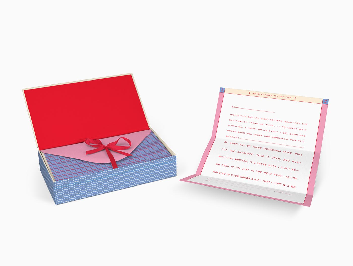 Knock Knock | Read Me When Box: Letters to the Love of My Life