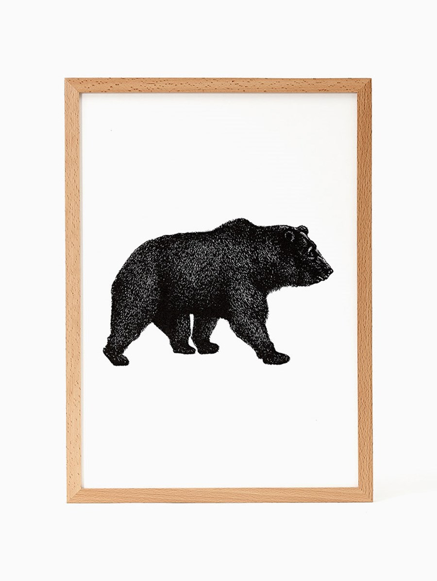 Nice To Have Kodiak Bear Print