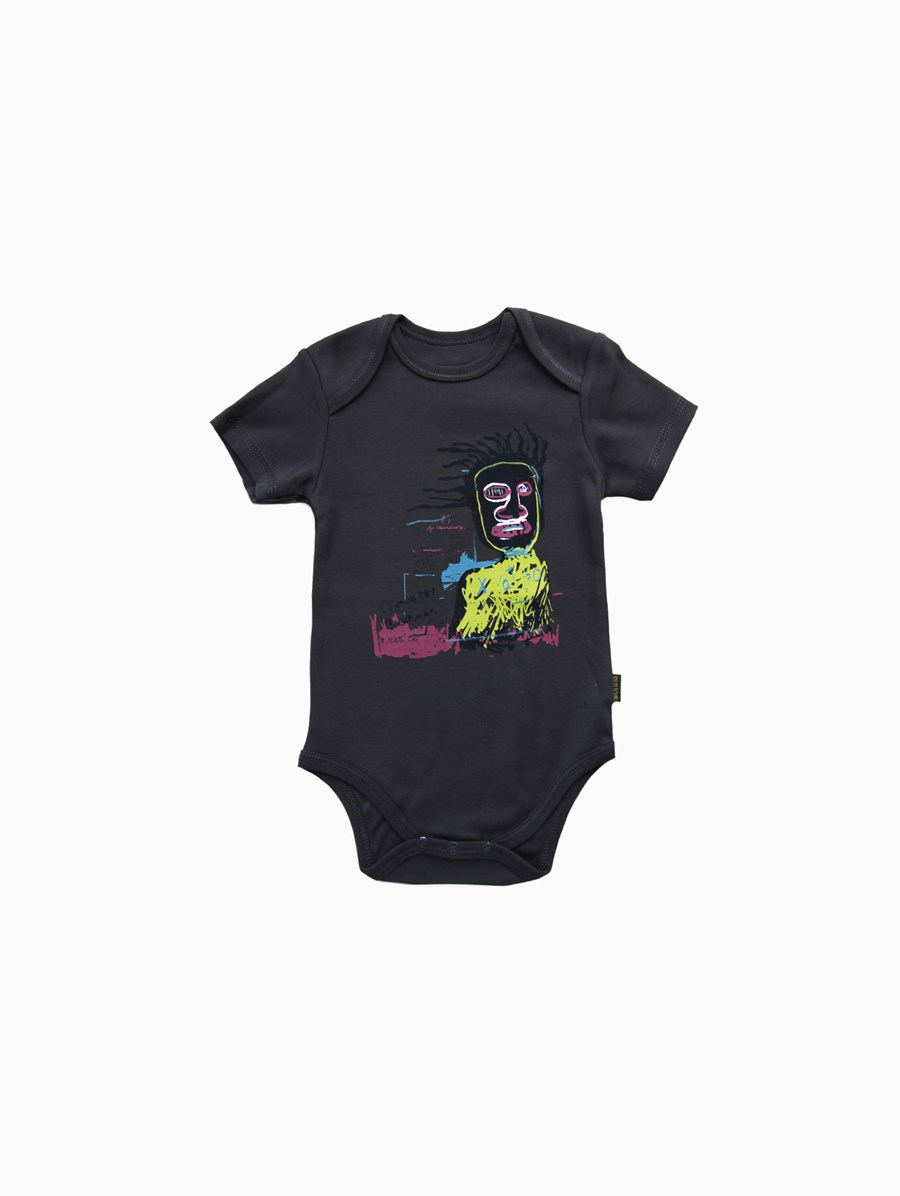 Wohha Kids Siyah I Love My Basquiat Body
