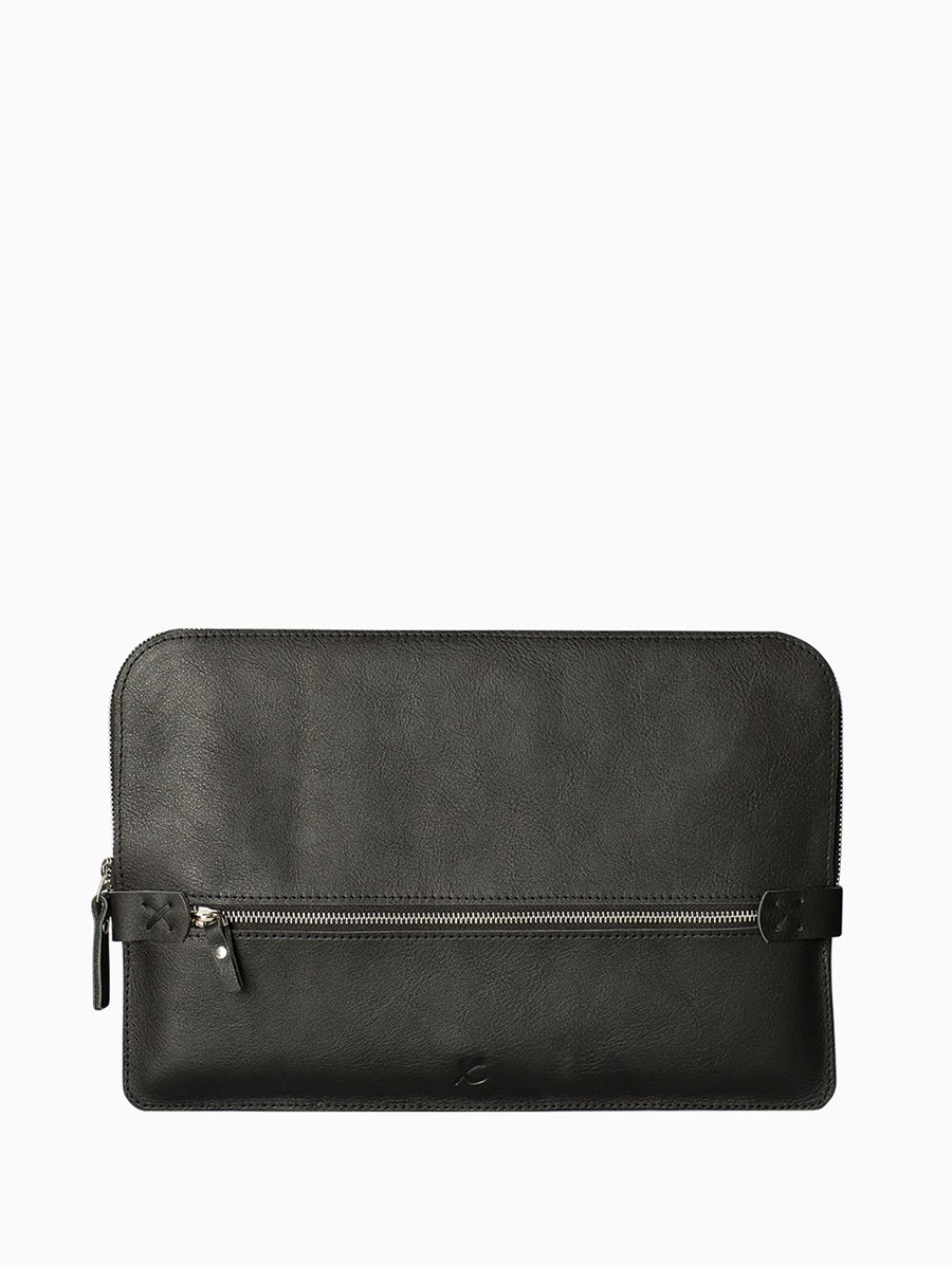 Too Leather Siyah Briefcase / Macbook Çantası