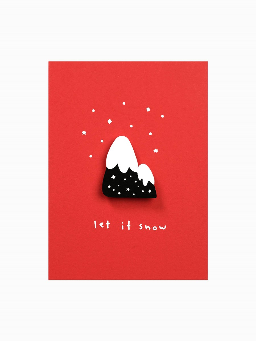 Happy Pincards Let It Snow