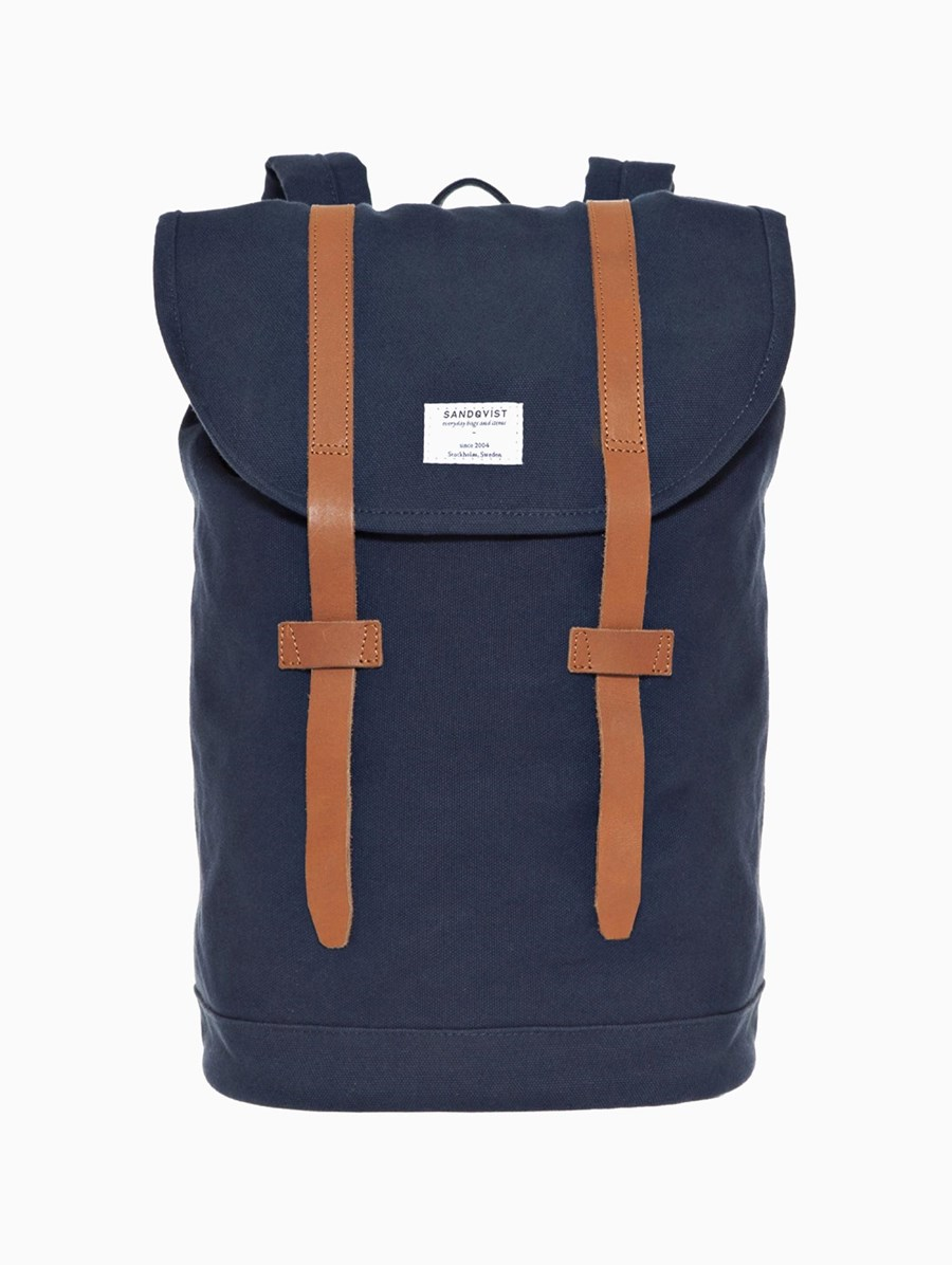 Sandqvist Stig Blue Backpack