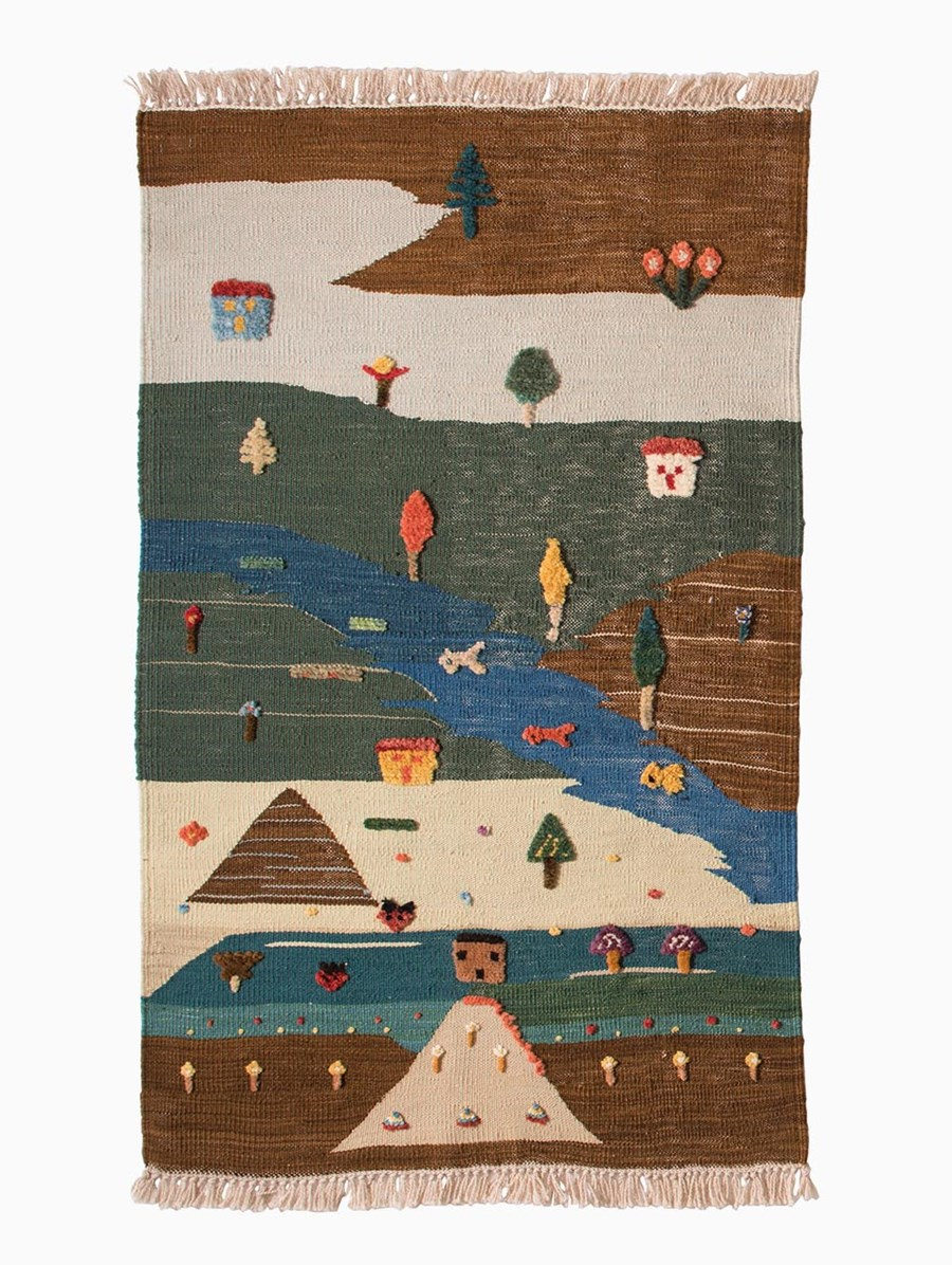 MiniKnots Mountain Air Kilim