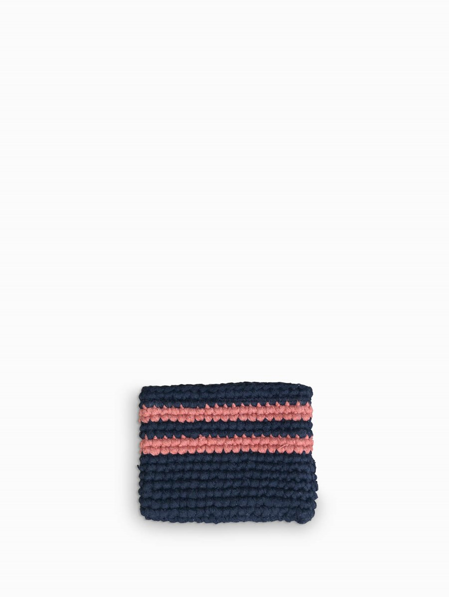 Cooperative Studio Striped Clutch XS