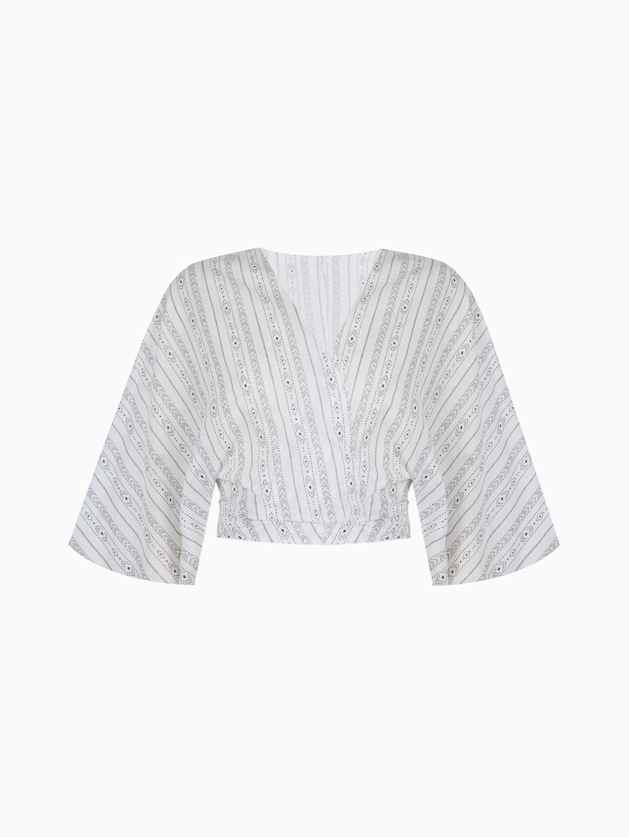 Lando Studio Wrap Top