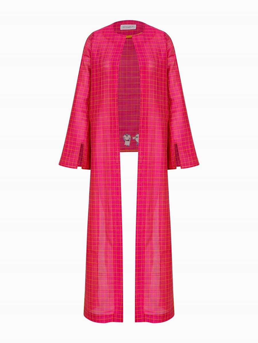 Incomplit Pink No Mask Kaftan