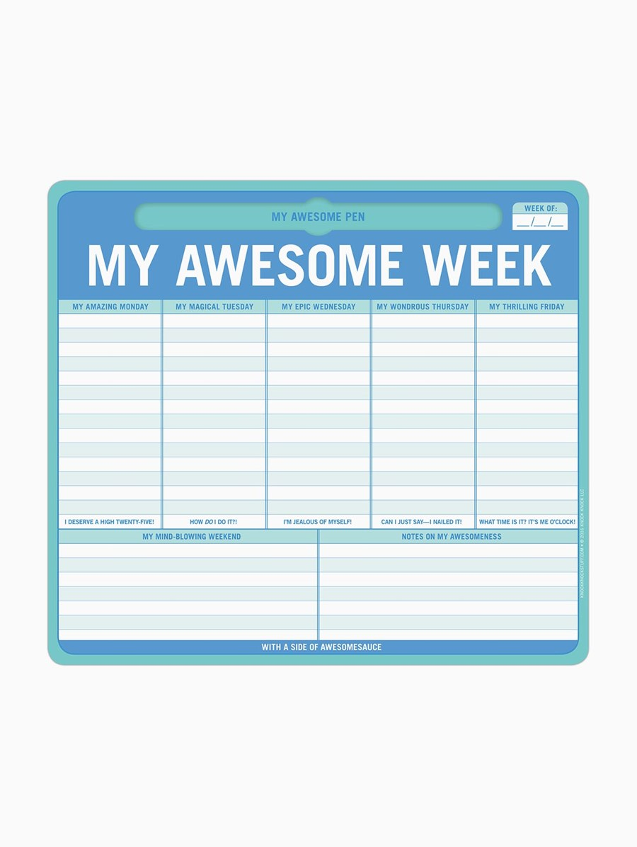 Knock Knock Awesome Week Mousepad