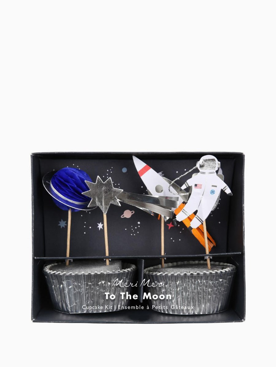 Meri Meri To The Moon Cupcake Kit