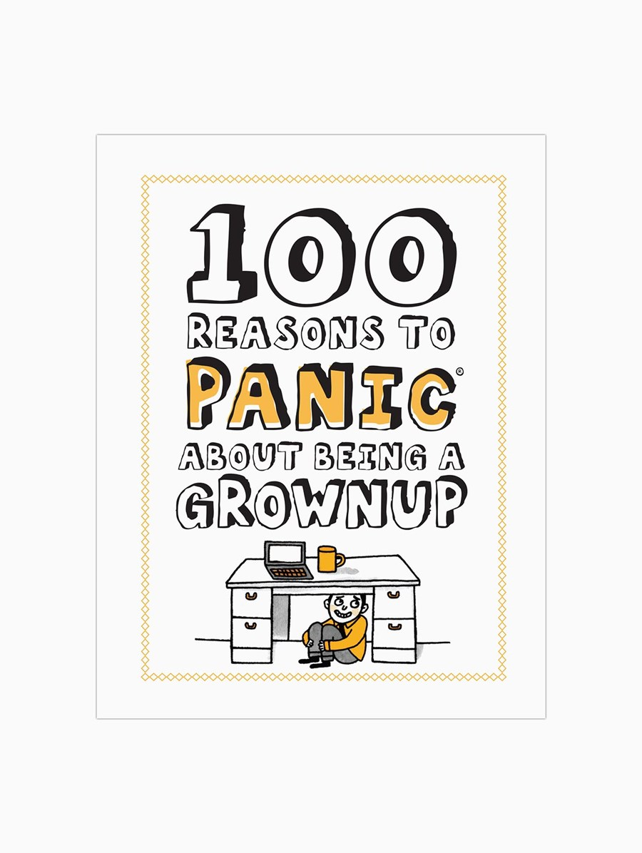Knock Knock 100 Reasons to Panic about: Being a Grownup Kitap