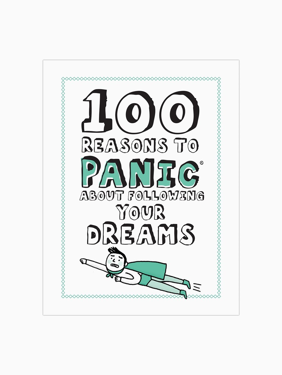 Knock Knock 100 Reasons to Panic about: Following Your Dreams Kitap