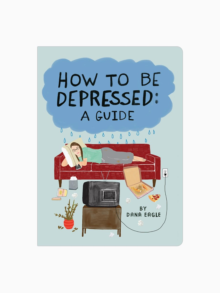 Knock Knock How to Be Depressed: A Guide Kitap