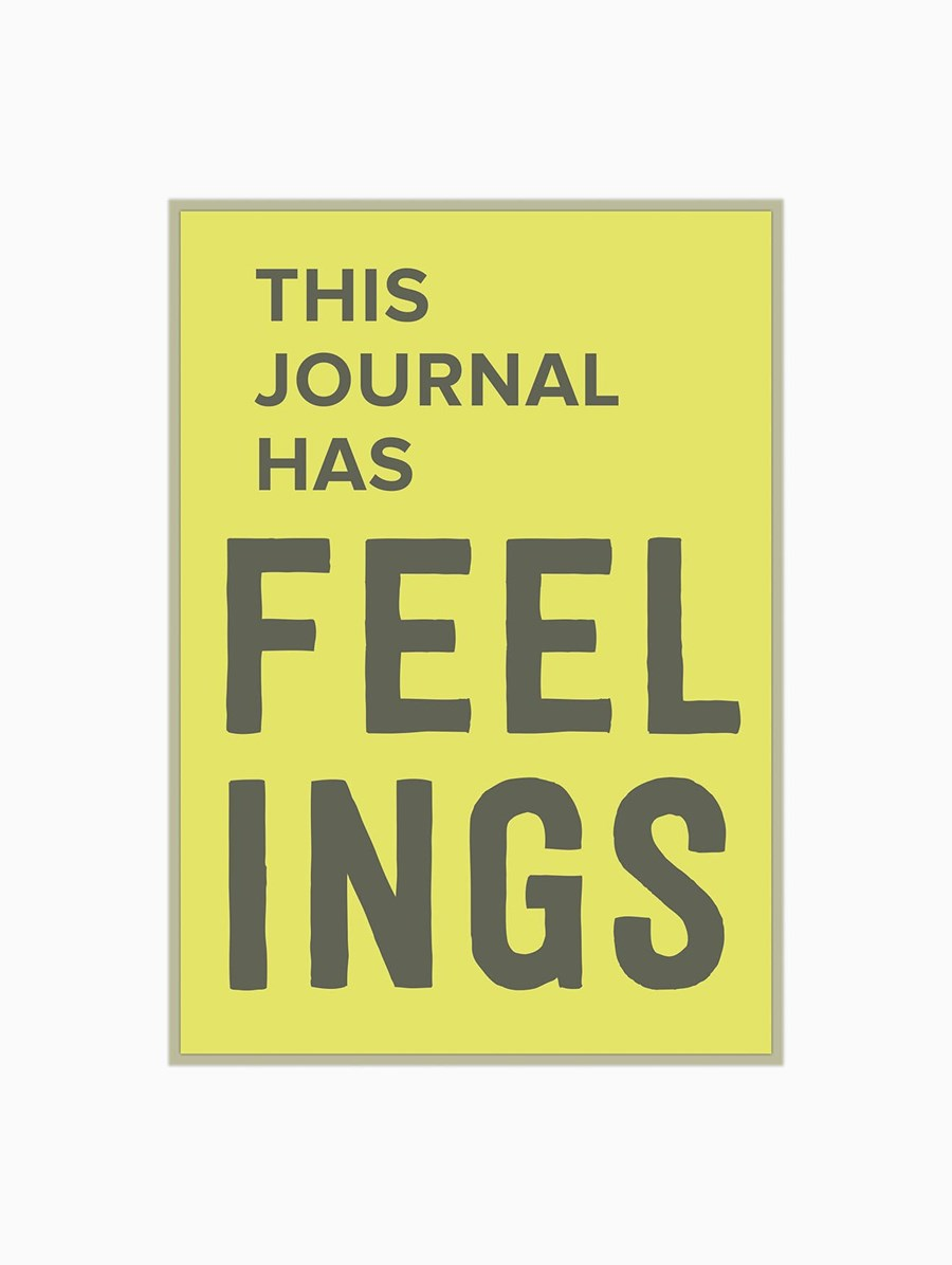 Knock Knock This Journal Has Feelings Günlük