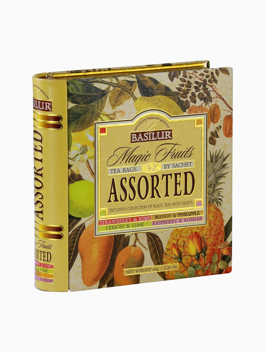 Basilur Assorted Tea Book