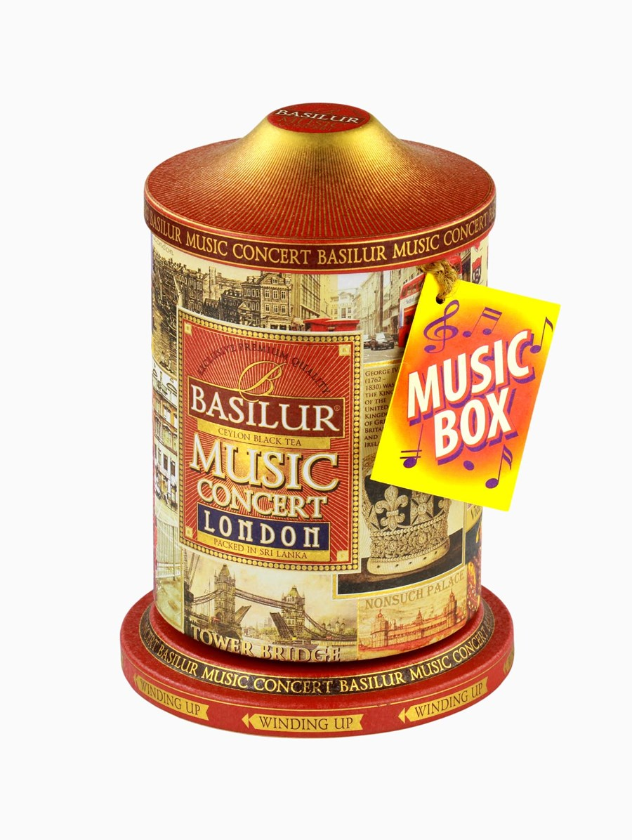 Basilur London Music Concert Çay