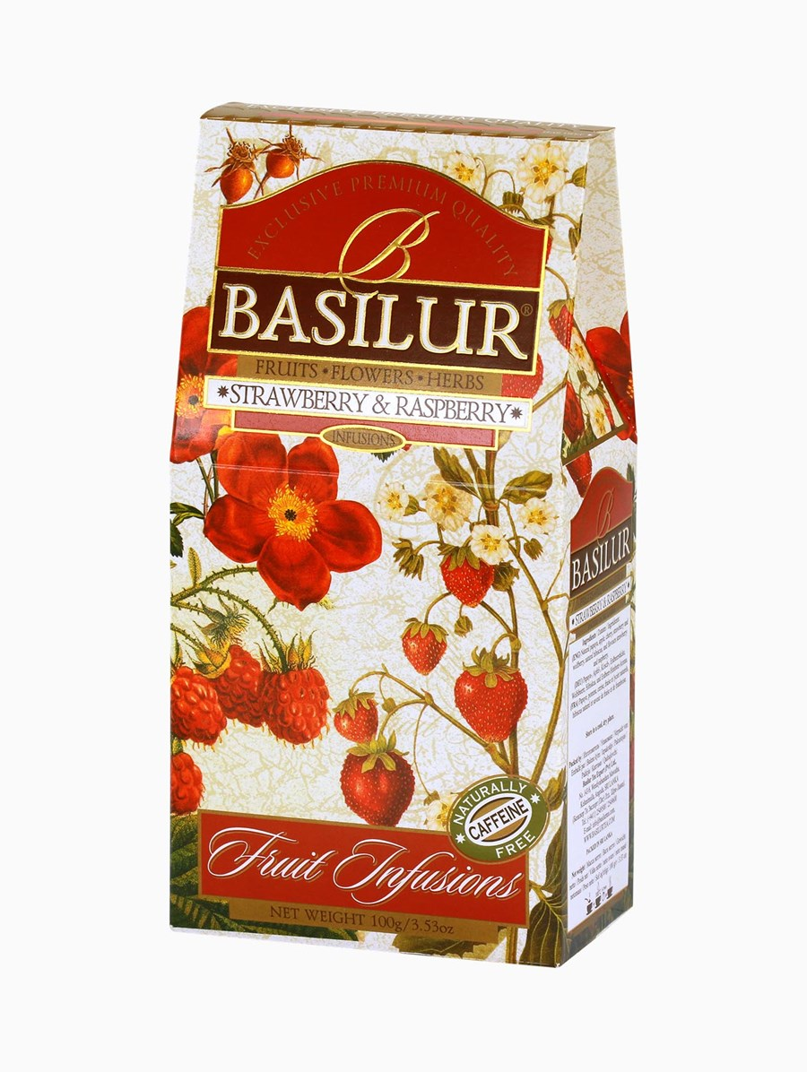 Basilur Strawberry Raspberry