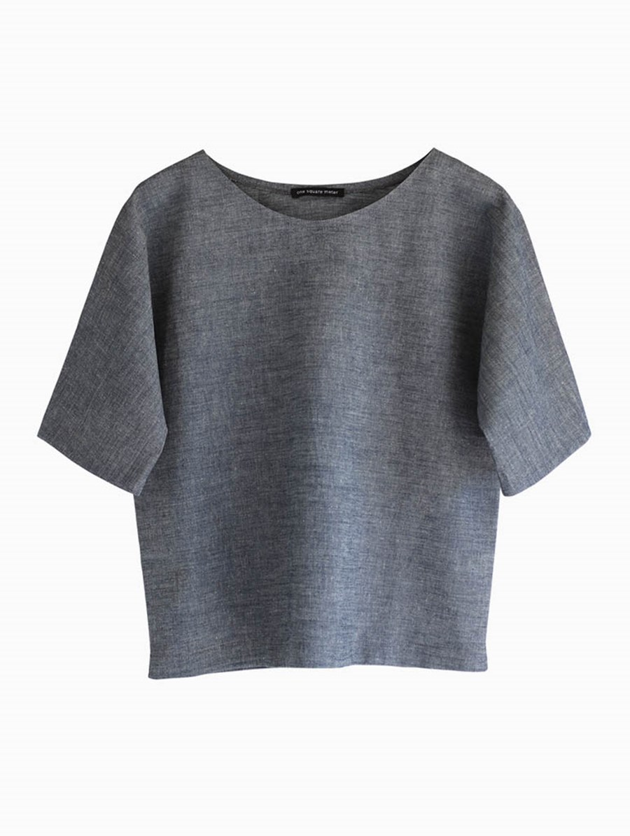 One Square Meter Ada Top Grey