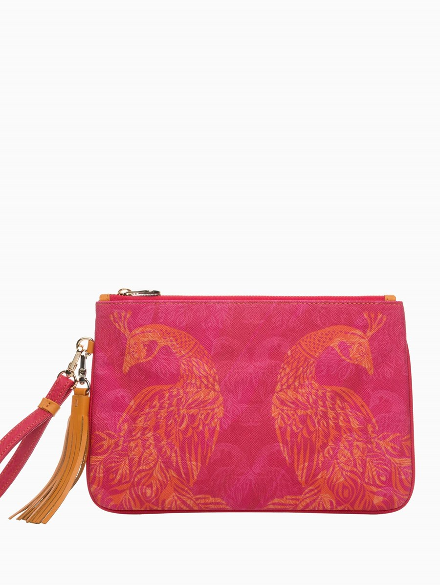 Fonfique Dalida Clutch Peacock