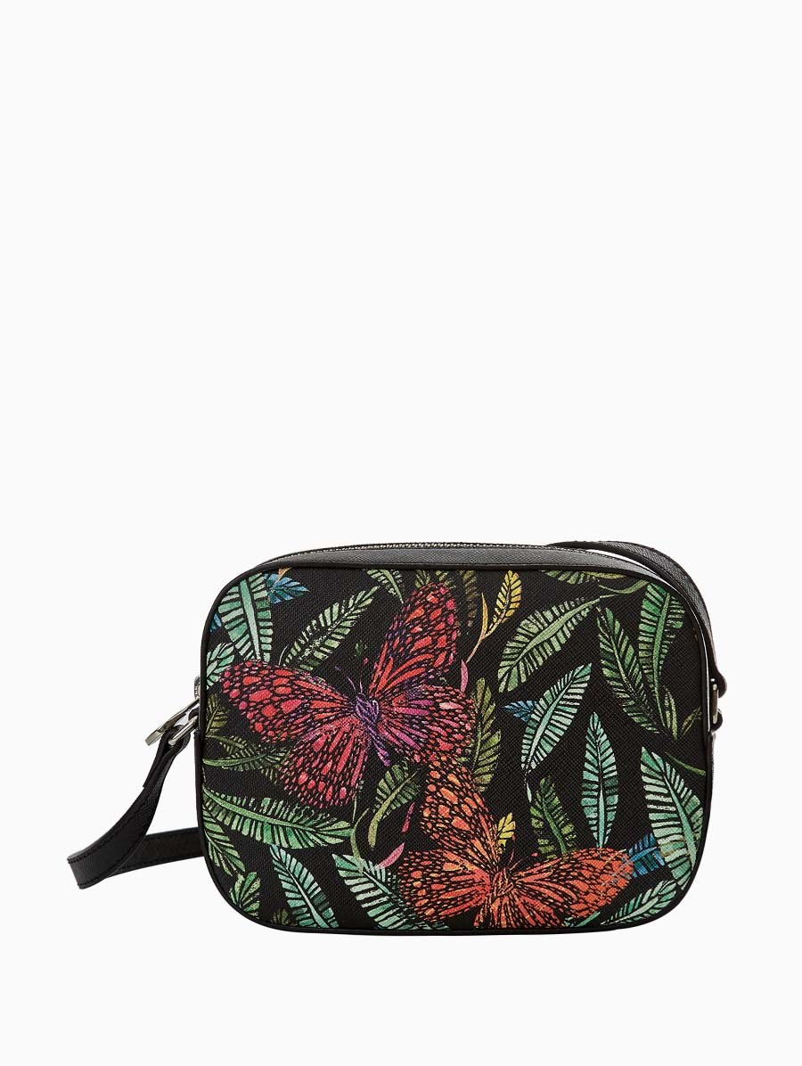 Fonfique Navi Strap Bag Botanical