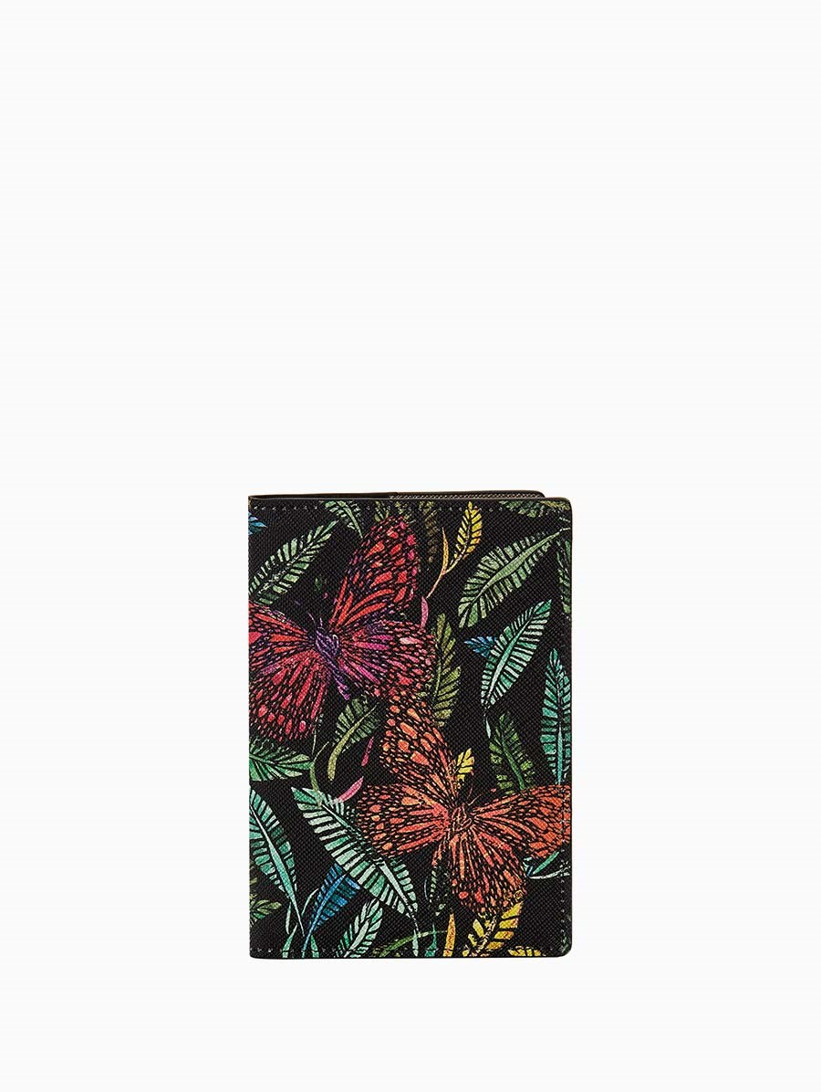 Fonfique Gemma Passport Holder Botanical