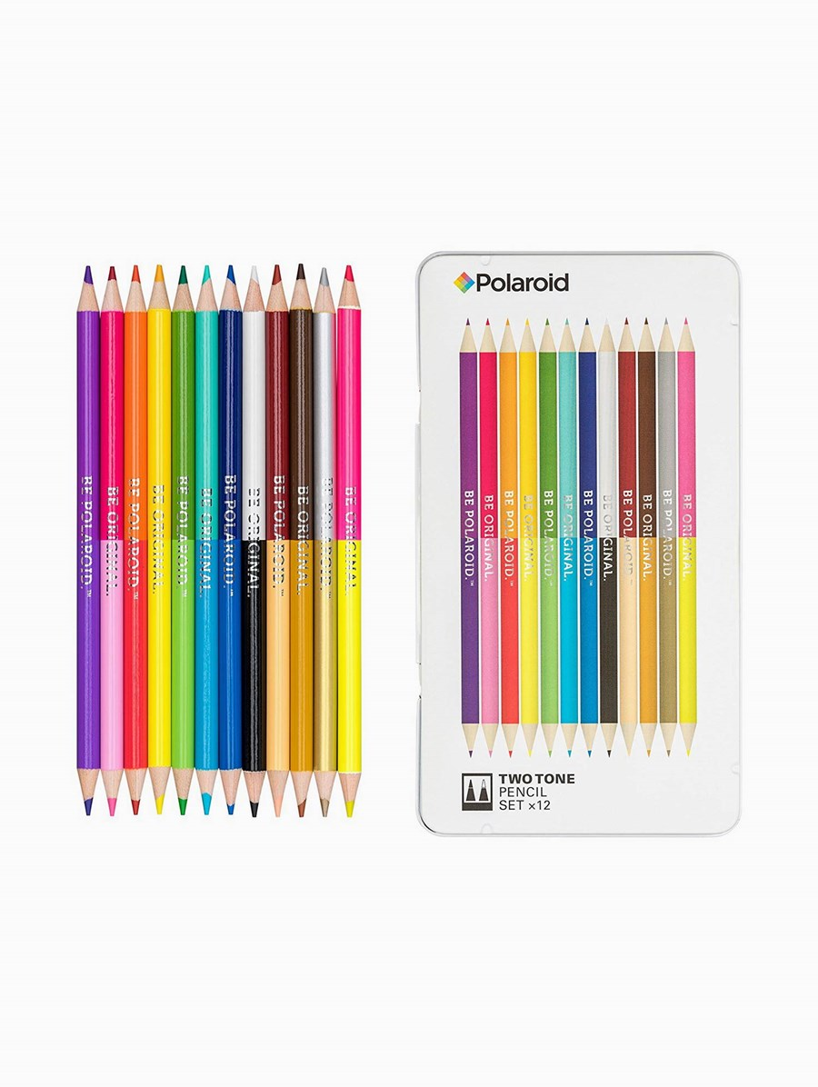 Polaroid Two-Tone Spectrum Pencil Set