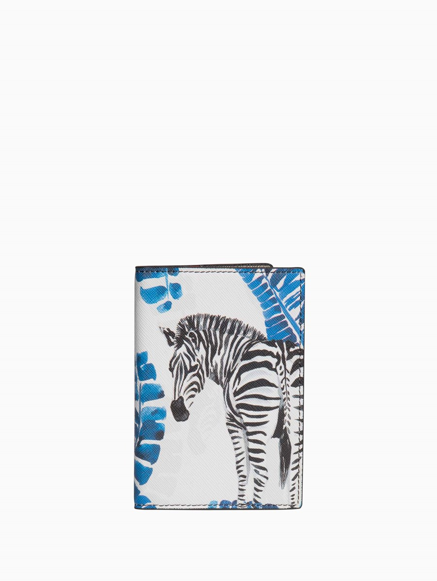 Fonfique Gemma Passport Holder Zebra