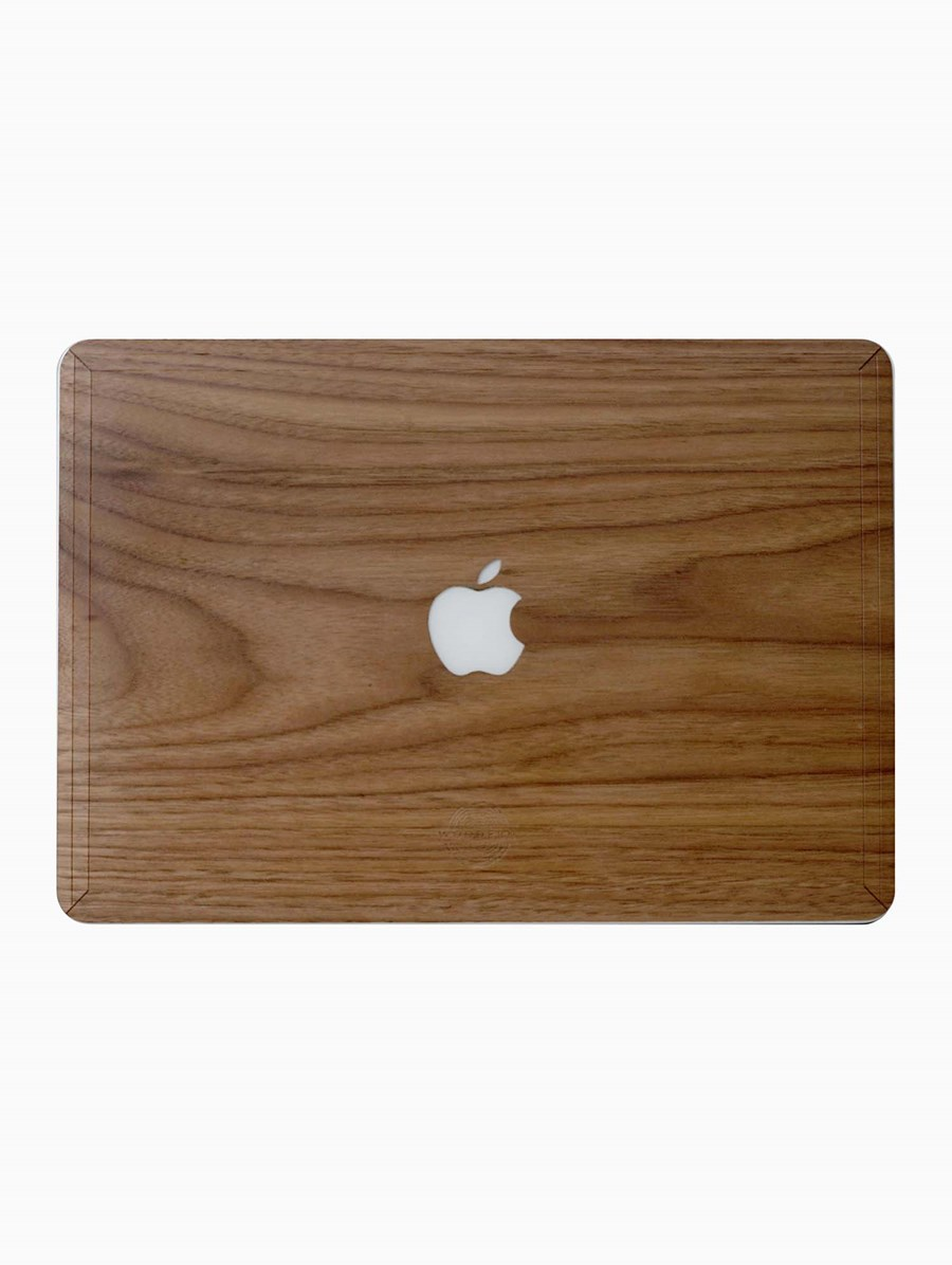 Woodern Walnut MacBook Cover