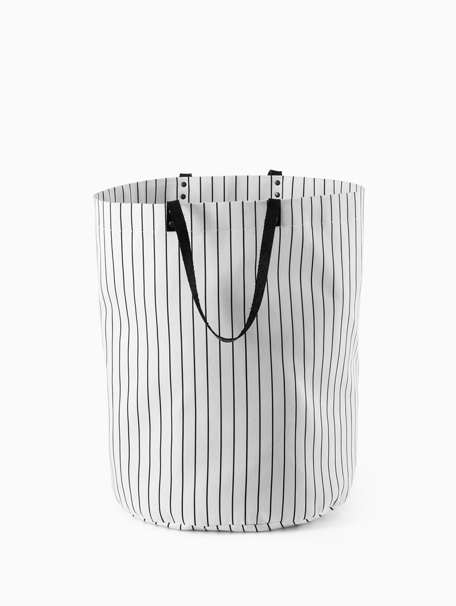 Egg Pinstripe Bag