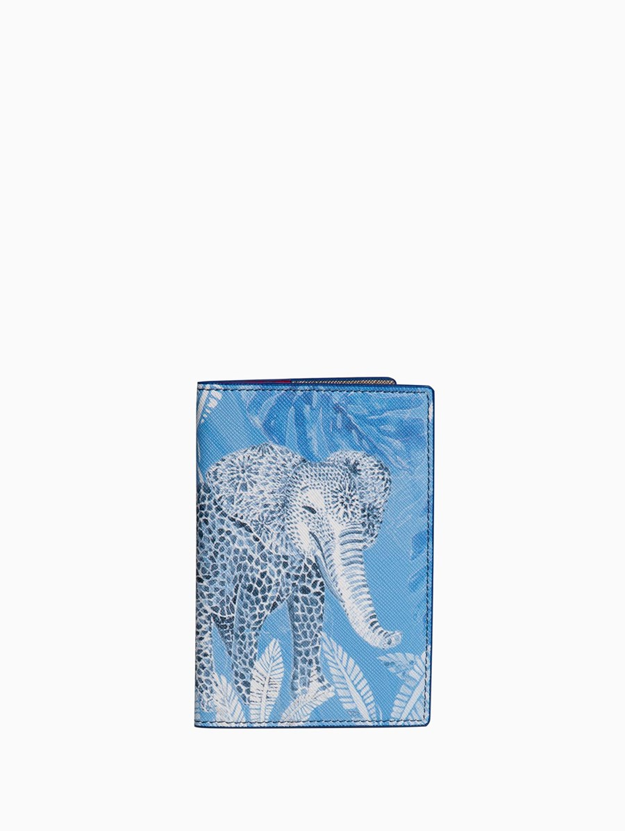 Fonfique Gemma Passport Holder Elephant