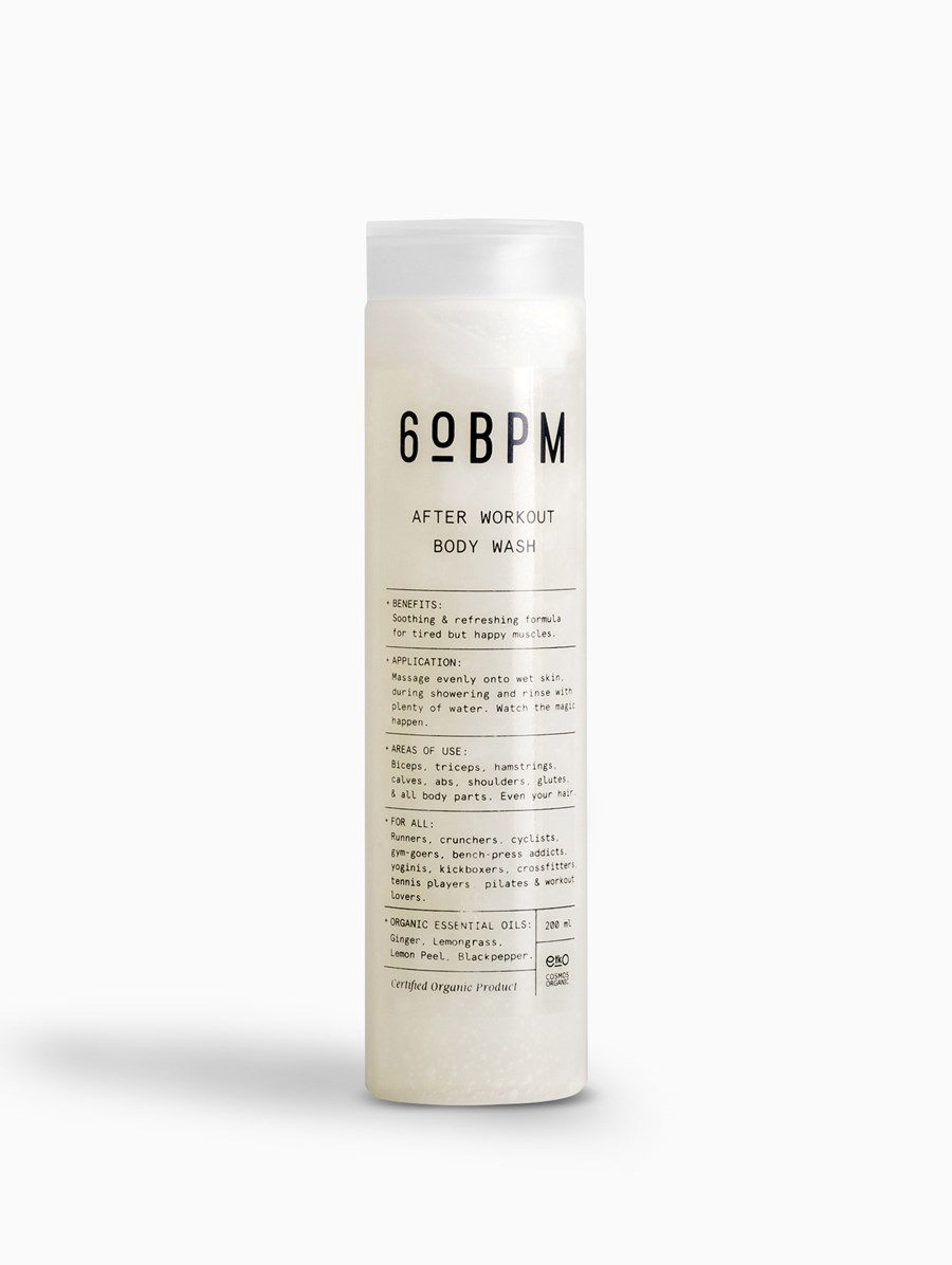 60bpm After Workout Body Wash