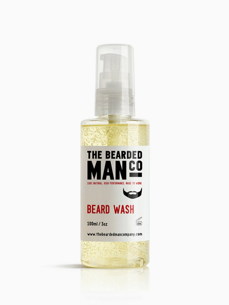 The Bearded Man Company Sakal Yıkama Şampuanı 100 ml