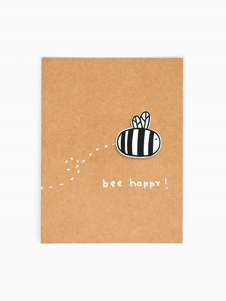 Happy Pincards Bee Happy Broş