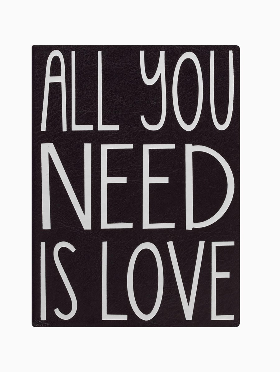 Eccolo All You Need Is Love Defter
