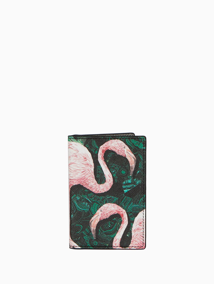 Fonfique Gemma Passport Cover Flamingo