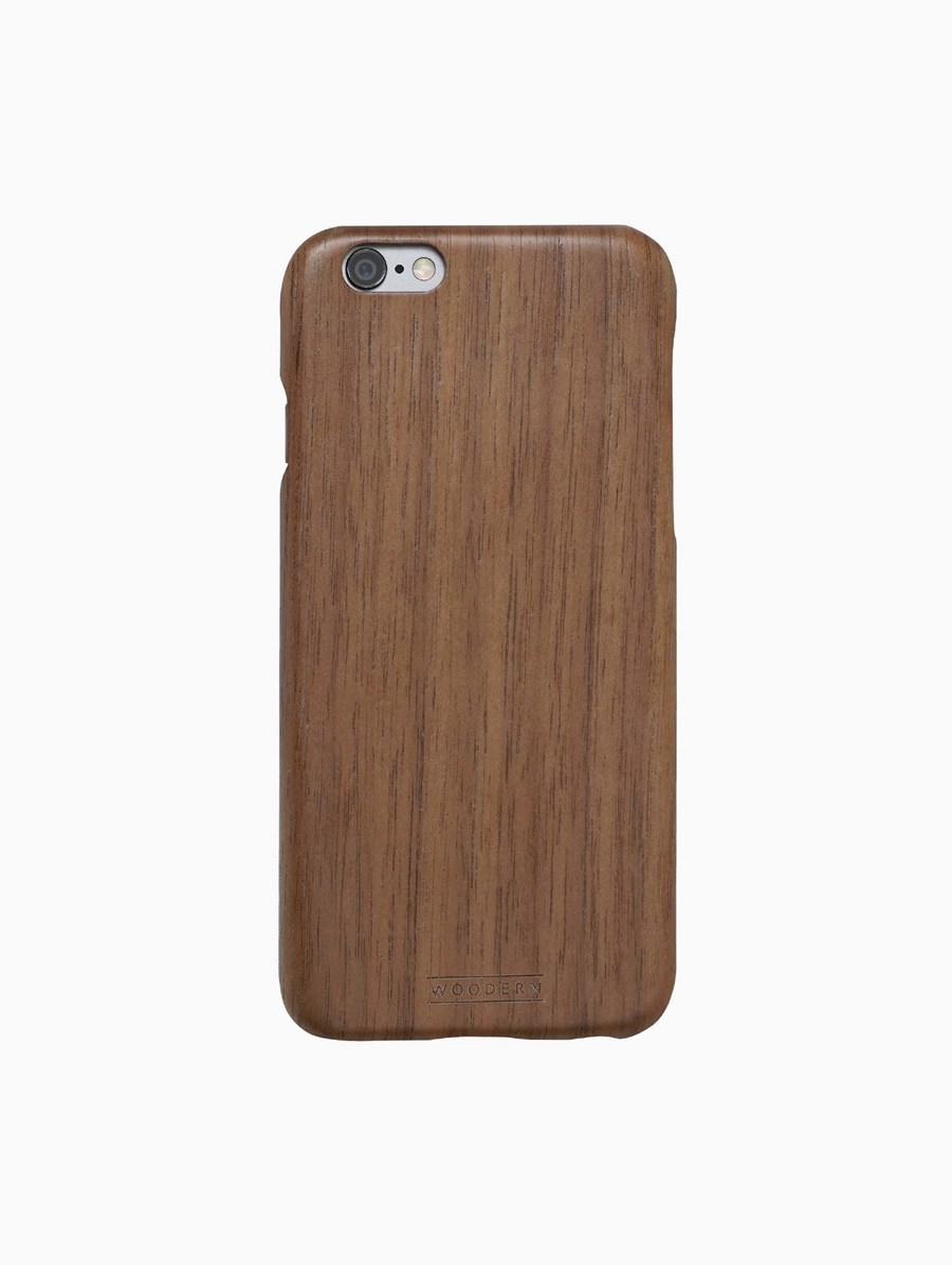 Woodern Walnut iPhone Cover
