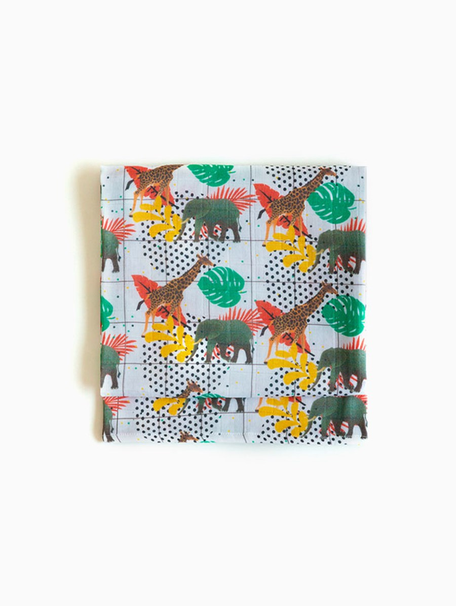 Baby Fou Jungle Fun Muslin