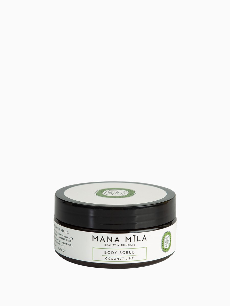 Mana Mila Coconut Lime Body Scrub