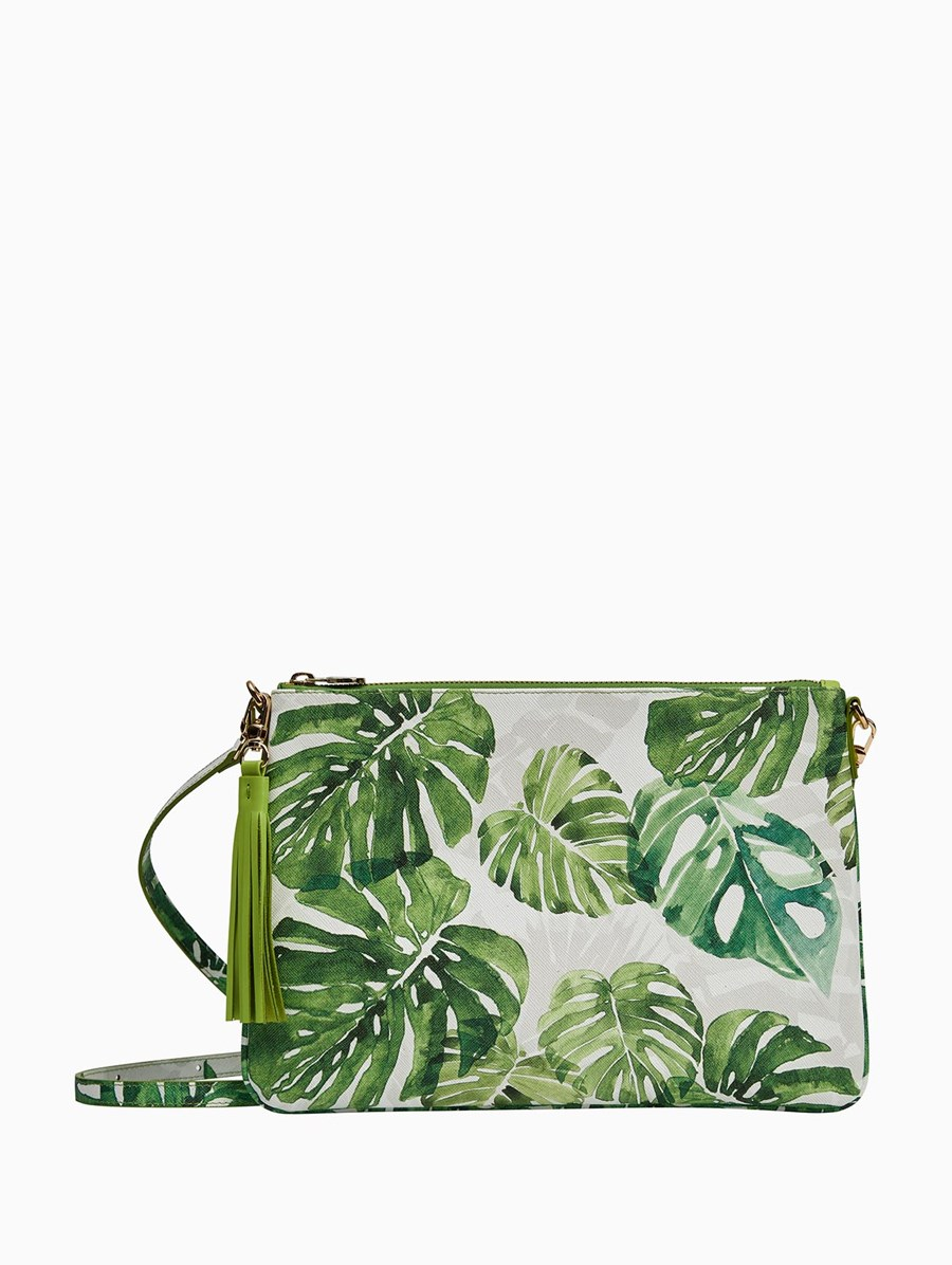 Fonfique Monstera Clutch