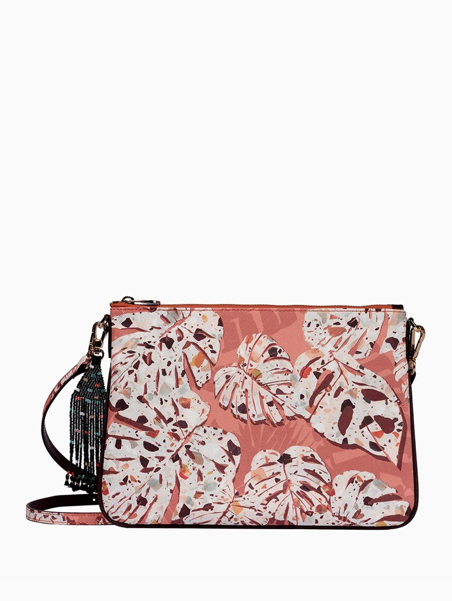 Fonfique Merita Clutch Monstera Terra
