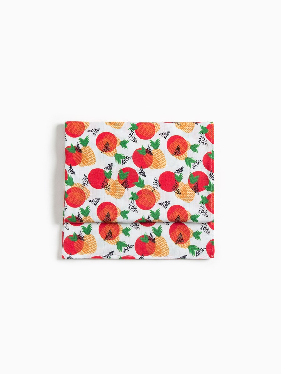 Baby Fou Pineapples Muslin