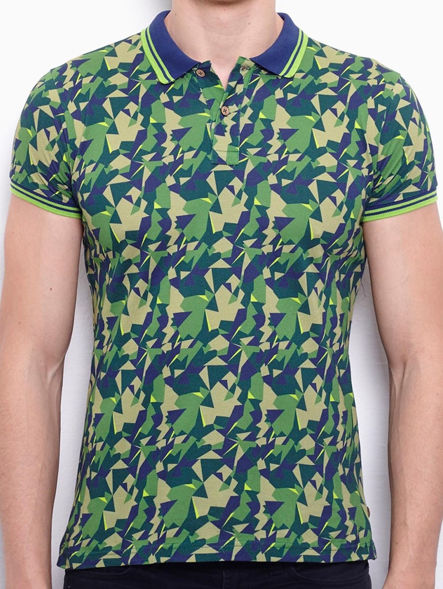 Port Royale Camo Polo T-shirt