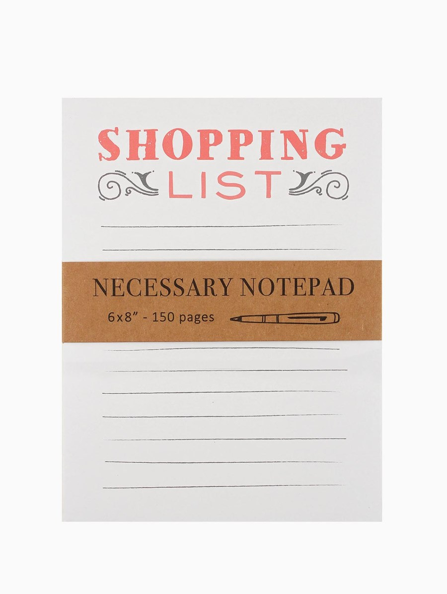 Eccolo Shopping List Defter